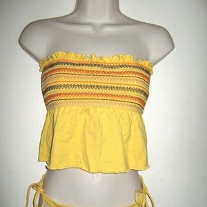 Other - Sunshine Yellow Tankini Swimsuit